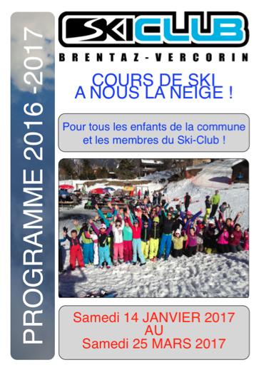 Découvrez les cours A nous la neige2016-17!