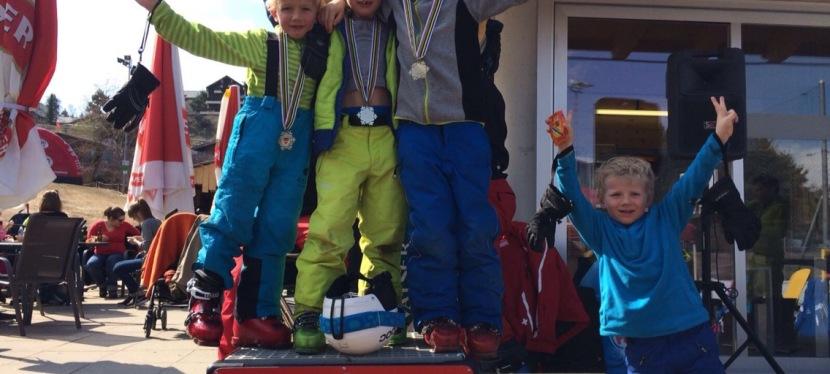 Le ski c'est fini à la télé mais pas cheznous!
