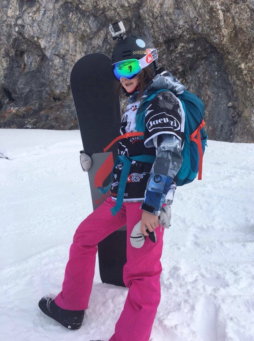 The rookie that rocks : Zoe macgeorge 🏂🏂